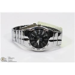 OAKLAND RAIDERS MENS METAL WATCH