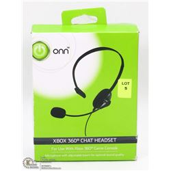 ONN XBOX 360 CHAT HEADSET