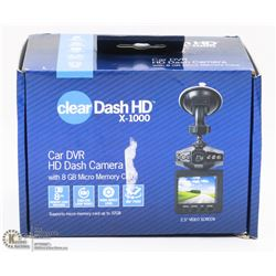 TRISTAR CLEAR DASH HD WIDE ANGLE DASH CAMERA