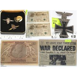 FEATURED ITEMS: GERMAN AND WAR COLLECTIBLES