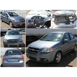 FEATURED ITEM: 2007 CHEVROLET AVEO SEDAN