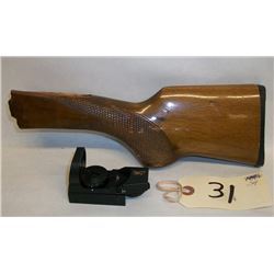 Browning sight & wood stock