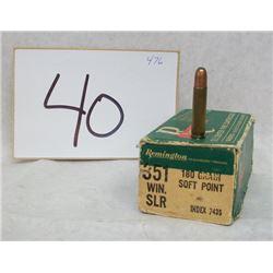 351 WINCHESTER SL AMMO
