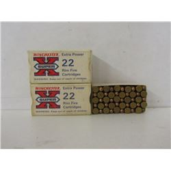 TWO BOXES OF 50RNDS WINCHESTER 22LR