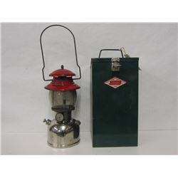 COLEMAN GAS LANTERN AND STORAGE CAN