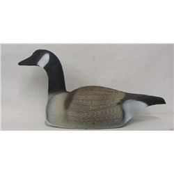 8 GOOSE SHELL DECOYS, LAYING DOWN POSITION