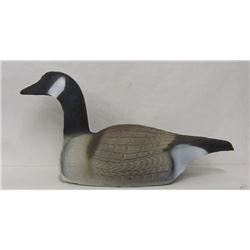 7 GOOSE SHELL DECOYS, LAYING DOWN POSITION