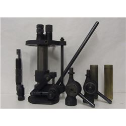 RELOADING PRESS AND ACCESSORIES