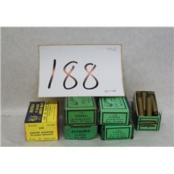 .25 CAL PROJECTILE RELOADING LOT