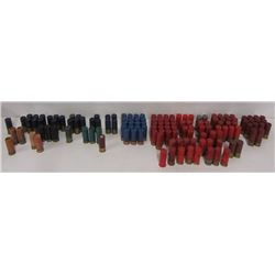 LOT OF ASSORTED 12GA AMMO IN AMMO CAN, 140 SHELLS