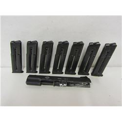 GSG PISTOL SLIDE AND MAGAZINES IN 22CAL