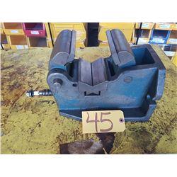 "4"" H/V Machine Vise for Pipe & Shaft"