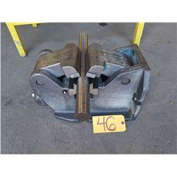 "6""1/4 H/V Machine Vise for Pipe & Shaft"