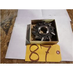 Stagered Indexable Milling Cutter 4""