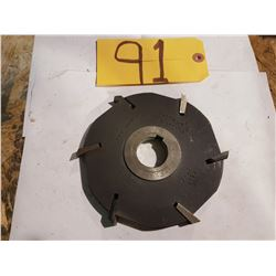 Stagered Indexable Milling Cutter 6""