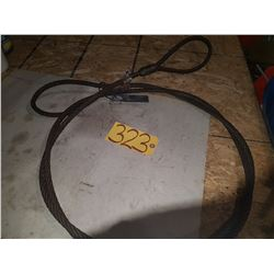Steel Sling Sling 1/2'' 5000lbs 12'