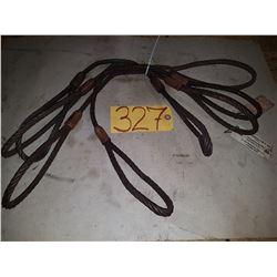 Lot of Steel Sling 3/8'' ????lbs 2''