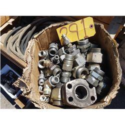 Box of Hydraulic piece