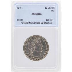 1915 Barber Half Dollar Coin