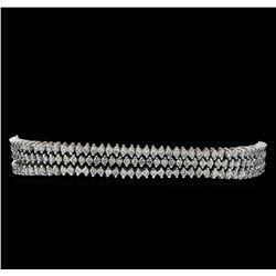 4.83 ctw Diamond Bracelet - 14KT White Gold