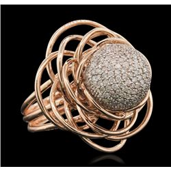 14KT Two-Tone Gold 2.10 ctw Diamond Ring