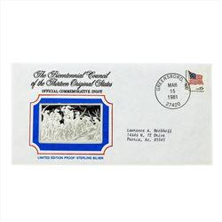 Bicentennial Council of the Thirteen Original States Silver Ingot