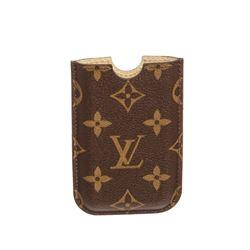 Louis Vuitton Monogram Canvas Leather Iphone 3 Case Cover