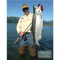 Alaska 4-night/ 3-day Fishing & Lodging for 2 people