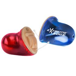 Custom molded Extreme Edge Electronic Ear Protection from SportEAR by AXIL