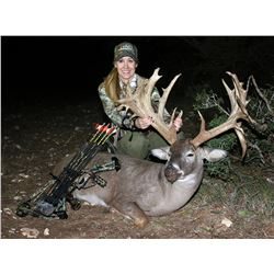Combo Trophy Whitetail and Trophy Exotic Hunt for 2 hunters, 3-days/2-nights in Texas