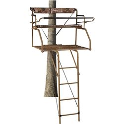 2 - Field & Stream Outpost 2X  16' Ladder Stands – with Elite Jaw Truss