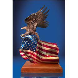 """""""Brave Glory"""", a bronze sculpture by Lorenzo Ghiglieri"""