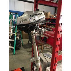 HONDA 2HP 4 STROKE OUTBOARD MOTOR & FUEL TANK