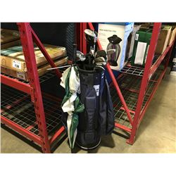 SET OF RIGHT HANDED GOLF CLUBS & GOLF BAG
