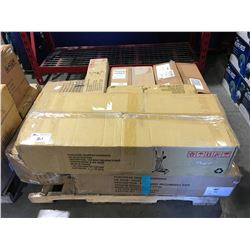 PALLET OF 7 ASSORTED EXERCISE MACHINE (STRIDER/PEDDLER/COMPACT CORE ECT)