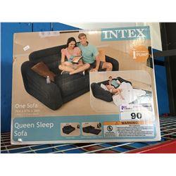 INTEX QUEEN SLEEP INFLATABLE SOFA