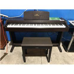 YAMAHA CLAVINOVO #CLP8106 DIGITAL PIANO WITH BENCH SEAT