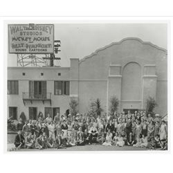 Walt Disney Studios Employee Photo.
