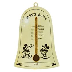 Mickey Mouse Baby's Bath Thermometer.