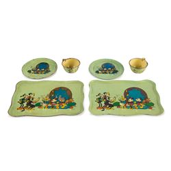 Mickey Mouse 6-Piece Tea Set.