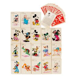Mickey Mouse Old Maid Card Game.