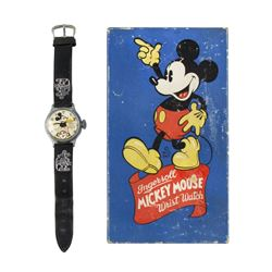 Ingersoll Mickey Mouse Wristwatch in Box.