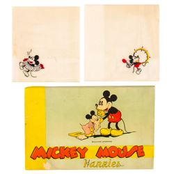 Mickey Mouse Hankies in Original Box.