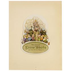 """Snow White and the Seven Dwarfs"" Premiere Program."