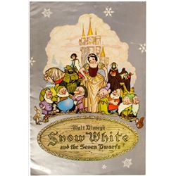 """Snow White and the Seven Dwarfs"" Exhibitor's Book."