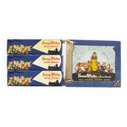 """Snow White and the Seven Dwarfs"" Toy Lantern Slides."