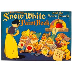 """Snow White and the Seven Dwarfs"" Paint Book."