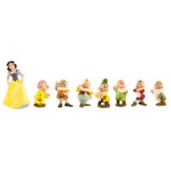 """Snow White"" Evan K. Shaw Complete Figurine Set."
