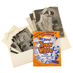 """Snow White"" Promotional Packets & Photos."