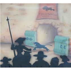 "Original Production Cel from ""Ferdinand the Bull""."